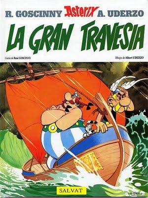 Couverture de Astérix (en espagnol) -22- La gran travesía