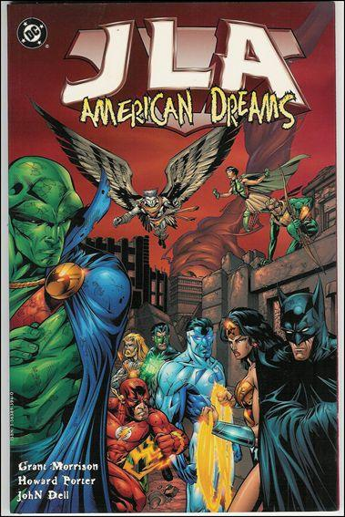 Couverture de JLA (1997) -INT02- American dreams