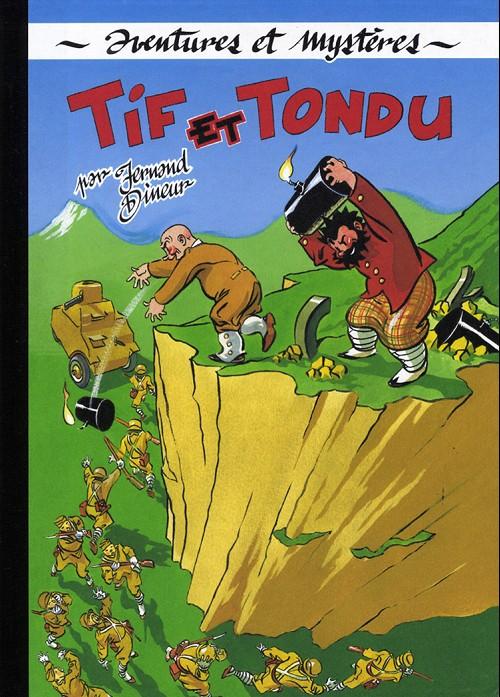Couverture de Tif et Tondu (Taupinambour) -5- Tif et tondu s'en vont en guerre