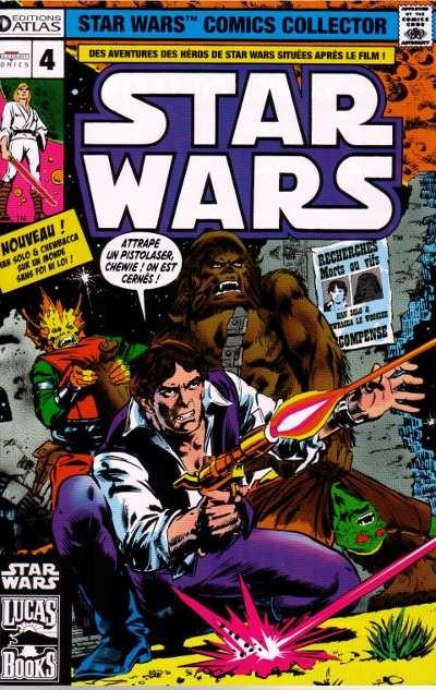 Couverture de Star Wars (Comics Collector) -4- Numéro 4