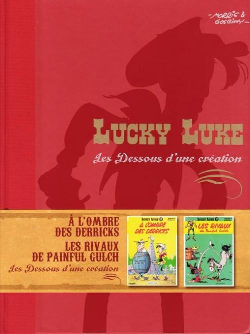 Couverture de Lucky Luke - Les Dessous d'une création (Atlas) -7- A l'ombre des derricks / Les rivaux de Painful Gulch