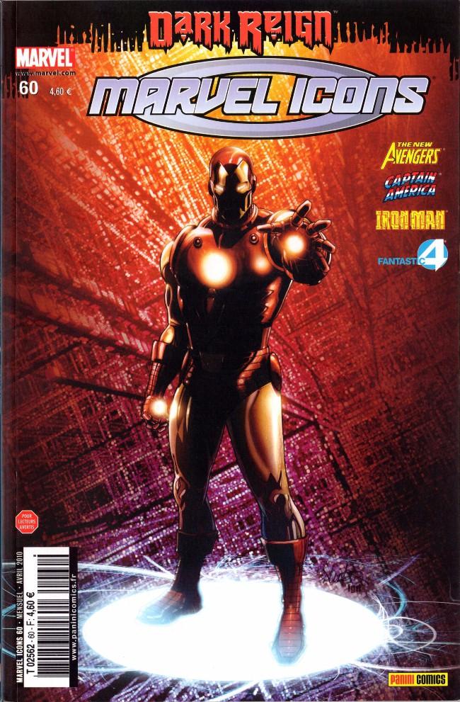Couverture de Marvel Icons (Marvel France - 2005) -60- Passé décomposé