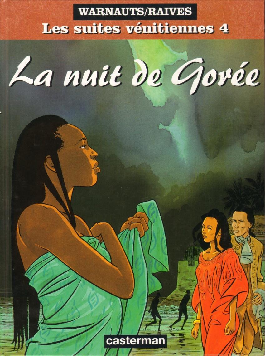 Couverture de Les suites Vénitiennes -4- La nuit de Gorée