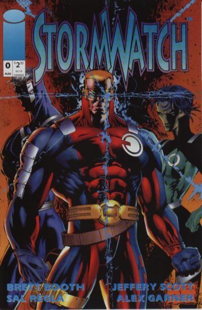 Couverture de StormWatch (1993) -0- #0