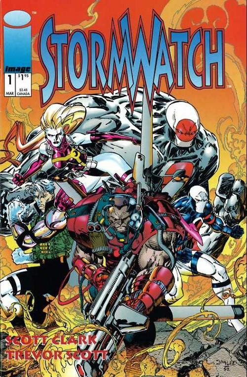 Couverture de StormWatch (1993) -1- #1