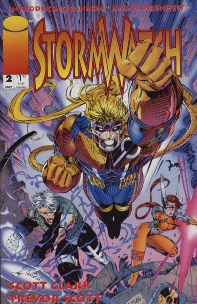 Couverture de StormWatch (1993) -2- Once more unto the breach...