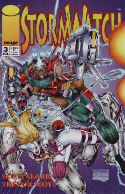Couverture de StormWatch (1993) -3- #3