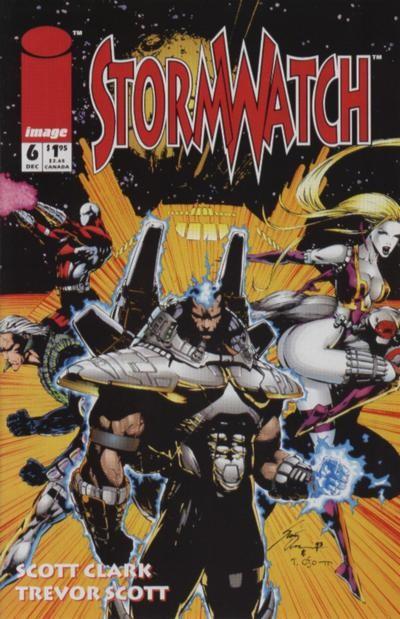 Couverture de StormWatch (1993) -6- #6