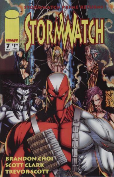 Couverture de StormWatch (1993) -7- #7