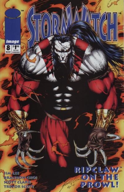 Couverture de StormWatch (1993) -8- Ripclaw on the prowl!
