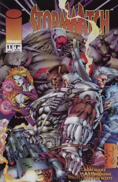 Couverture de StormWatch (1993) -11- # eleven