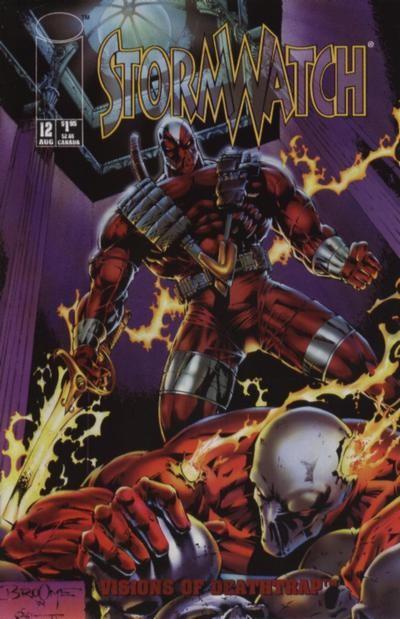 Couverture de StormWatch (1993) -12- #12
