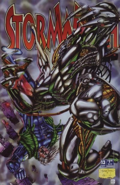 Couverture de StormWatch (1993) -13- #13