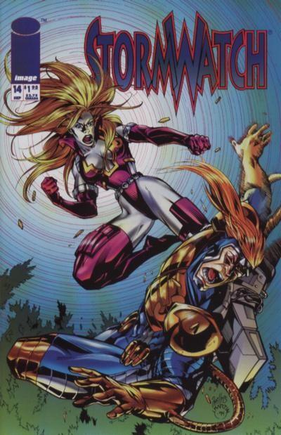 Couverture de StormWatch (1993) -14- #14