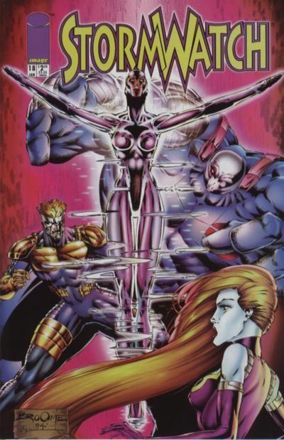 Couverture de StormWatch (1993) -18- #18