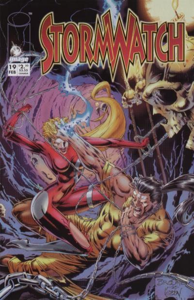 Couverture de StormWatch (1993) -19- #19