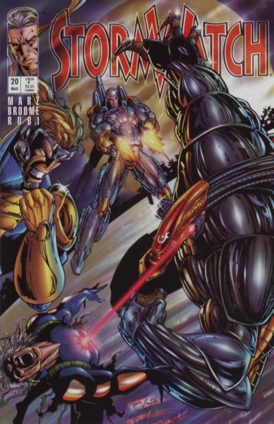 Couverture de StormWatch (1993) -20- #20