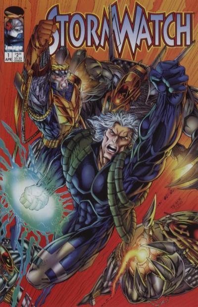 Couverture de StormWatch (1993) -21- #21