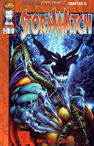 Couverture de StormWatch (1993) -22- Wildstorm rising chapter 9