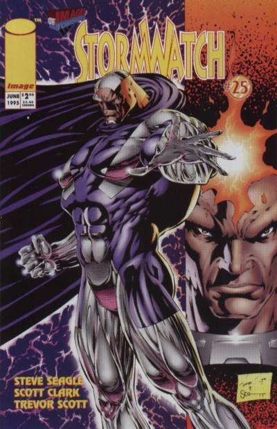 Couverture de StormWatch (1993) -25- #25