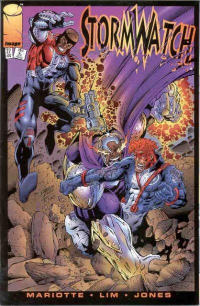 Couverture de StormWatch (1993) -27- #27