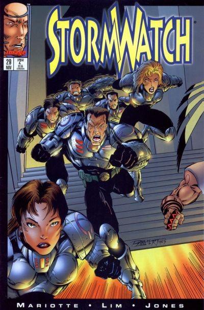 Couverture de StormWatch (1993) -29- Tango atlantico (part one)