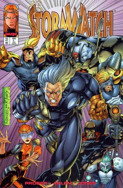 Couverture de StormWatch (1993) -31- #31
