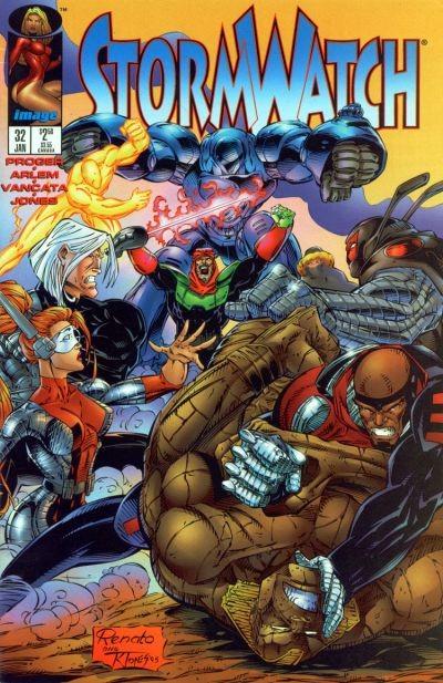 Couverture de StormWatch (1993) -32- #32