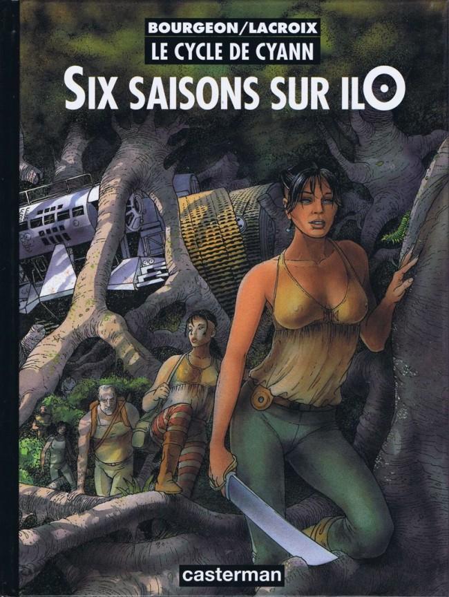 Couverture de Le cycle de Cyann -2- Six saisons sur ilO