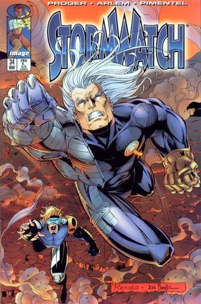 Couverture de StormWatch (1993) -34- #34