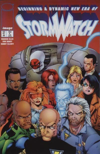 Couverture de StormWatch (1993) -37- #37