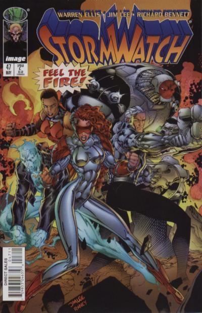 Couverture de StormWatch (1993) -47- #47