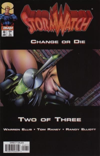 Couverture de StormWatch (1993) -49- Change or die (two of three)
