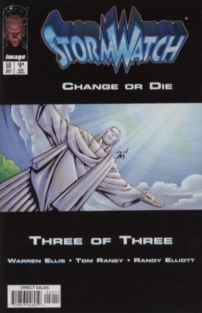 Couverture de StormWatch (1993) -50- Change or die (three of three)