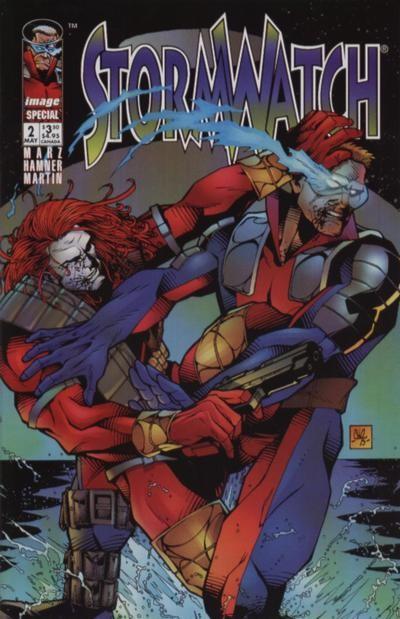 Couverture de StormWatch (1993) -HS02- Stormwatch special #2