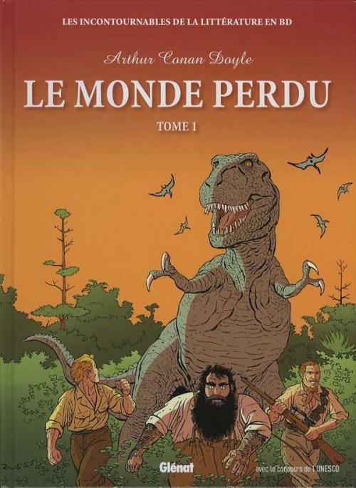 Couverture de Les incontournables de la littérature en BD -6- Le Monde perdu - Tome 1