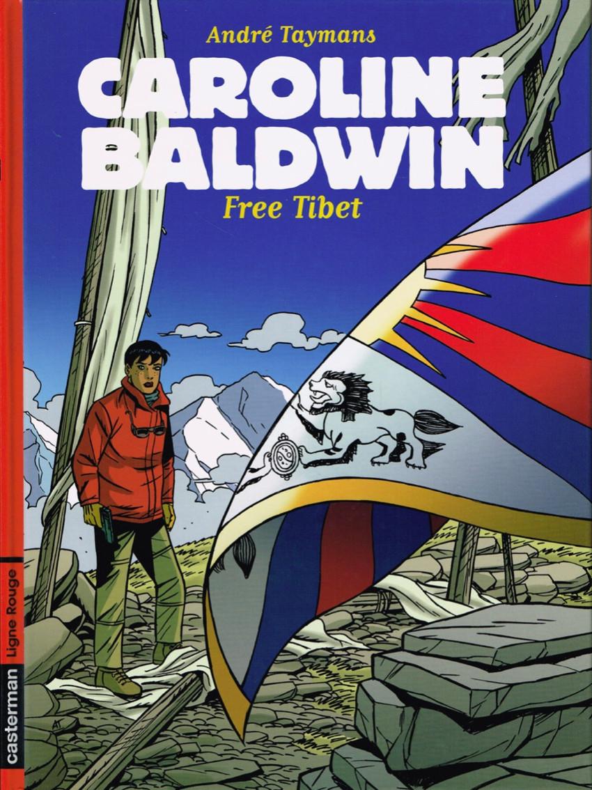 Couverture de Caroline Baldwin -14- Free Tibet