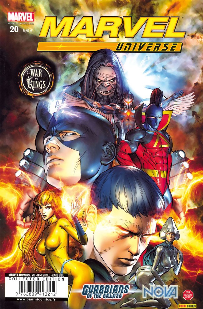 Couverture de Marvel Universe (Panini - 2007) -20- War of Kings (3/7)