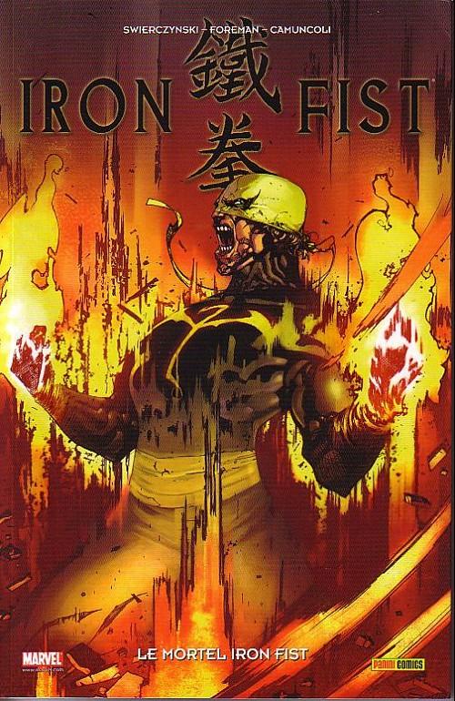 Couverture de Iron Fist (100% Marvel - 2008) -4- Le Mortel Iron Fist