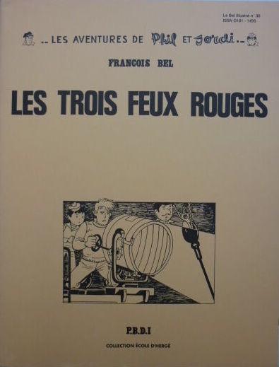 Couverture de Pompon Rouge (Les Aventures du) -7- Les Trois Feux rouges