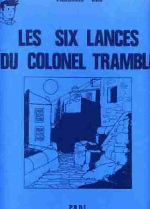 Couverture de Pompon Rouge (Les Aventures du) -9- Les Six Lances du colonel Tramble
