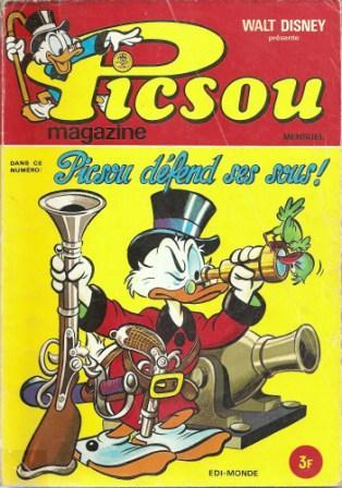 Couverture de Picsou Magazine -19- Picsou Magazine N°19