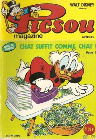 Couverture de Picsou Magazine -34- Picsou Magazine N°34