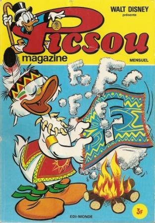 Couverture de Picsou Magazine -31- Picsou Magazine N°31