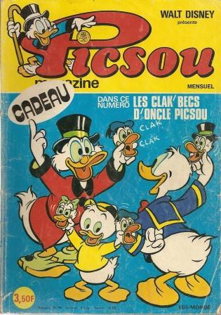 Couverture de Picsou Magazine -43- Picsou Magazine N°43