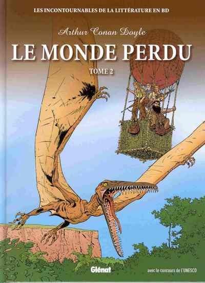 Couverture de Les incontournables de la littérature en BD -7- Le Monde perdu - Tome 2