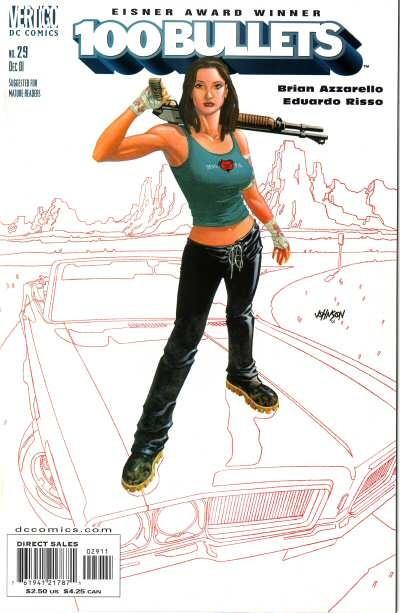 Couverture de 100 Bullets (1999) -29- Contrabandolero! (2)