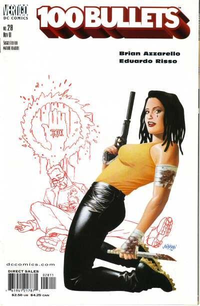 Couverture de 100 Bullets (1999) -28- Contrabandolero ! (1)