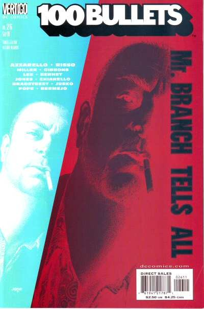 Couverture de 100 Bullets (1999) -26- Mr. branch and the family tree