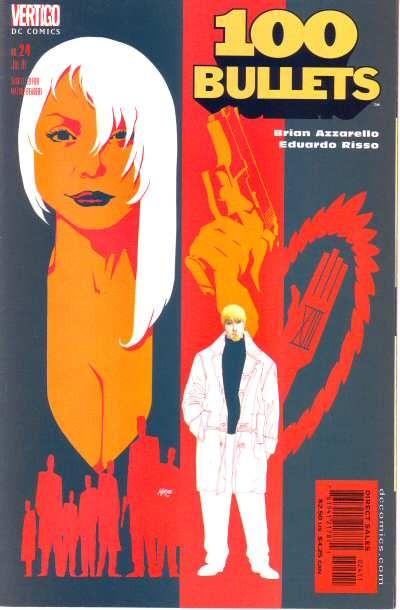 Couverture de 100 Bullets (1999) -24- Red prince blues (2)